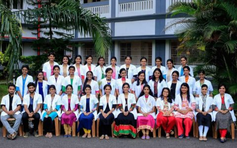 Passing out students of First PharmD & Second PharmD (PB) students of Pushpagiri College of Pharmacy